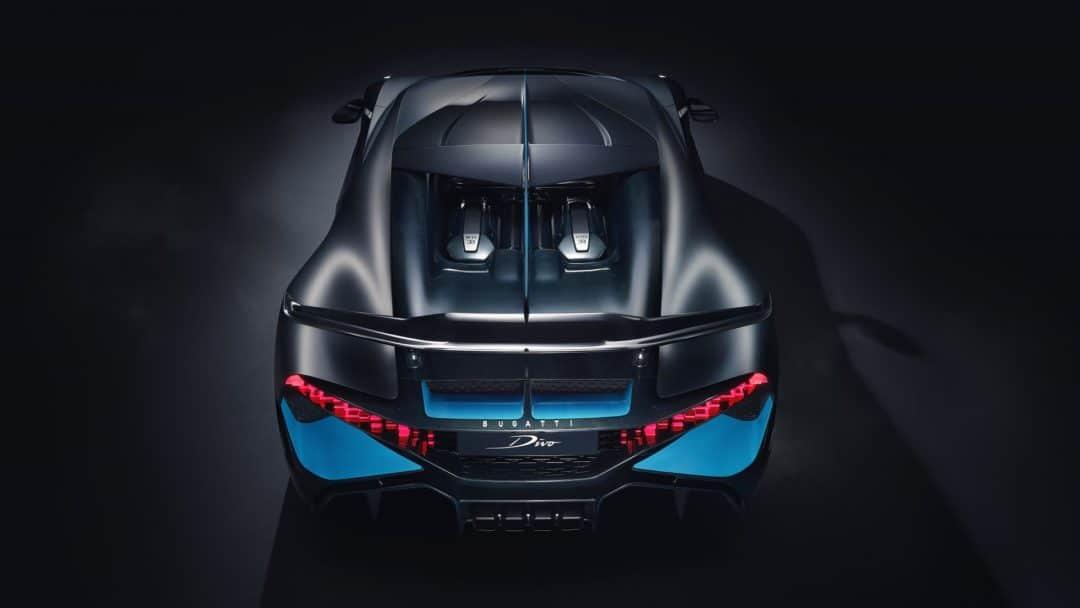 Arrière de la Bugatti Divo