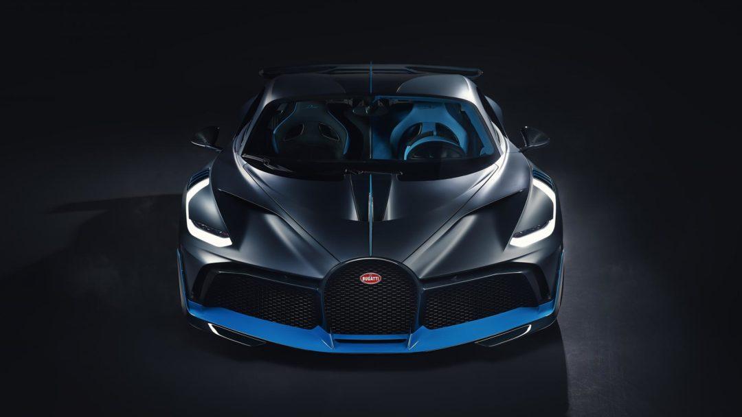 Avant de la Bugatti Divo