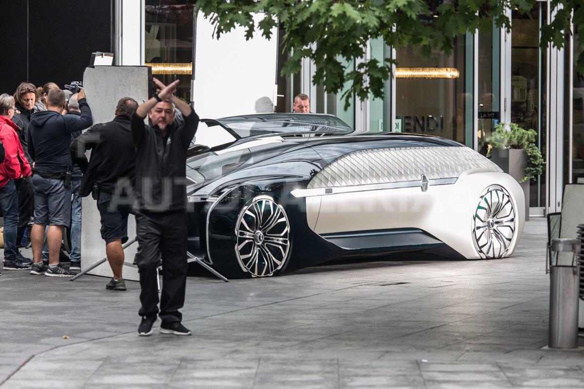 Le nouveau concept car de Renault - Trois quart