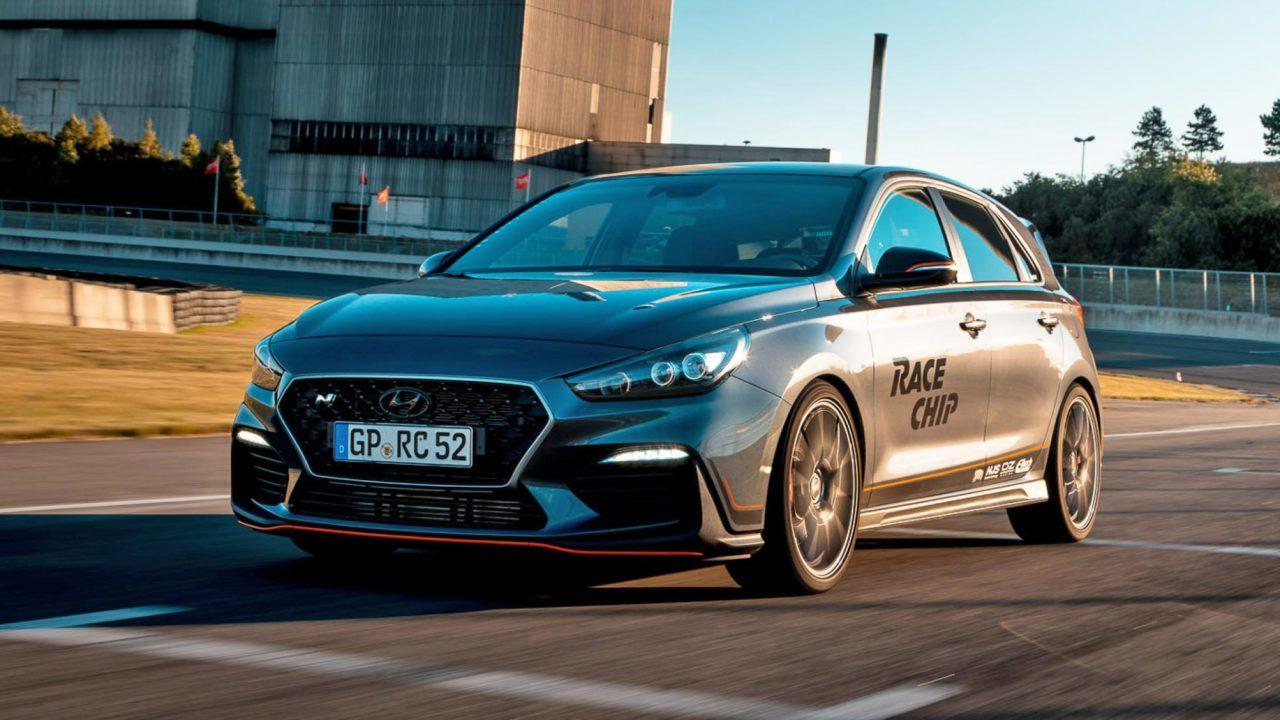 Hyundai i30 N GTS Black par le préparateur allemand RaceChip