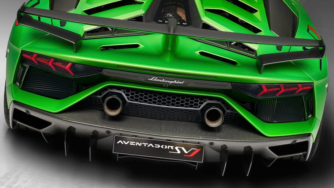 Echappement Lamborghini Aventador SVJ