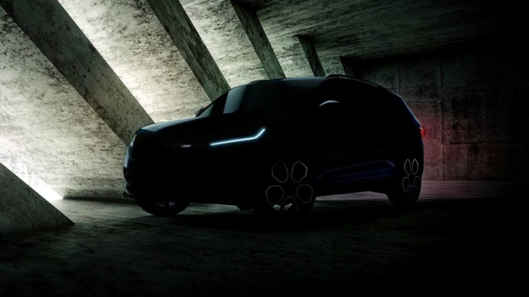 Encore un teaser du Skoda Kodiaq RS