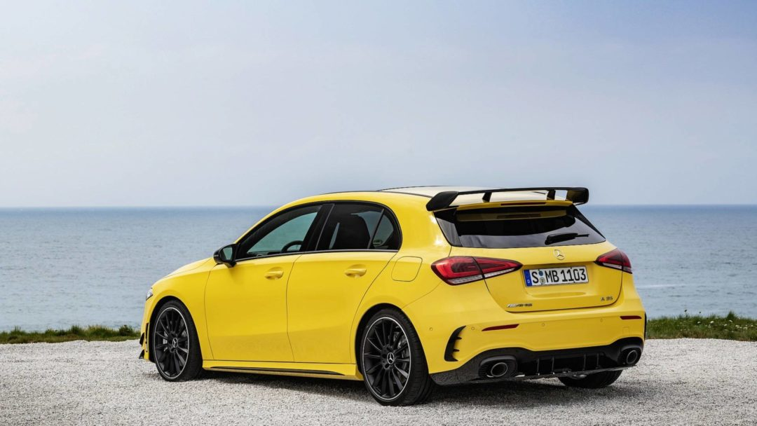 2019 Mercedes A35 AMG 4Matic ARRIERE