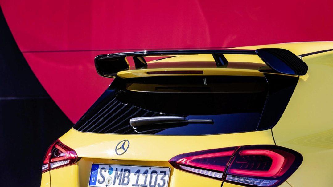 Spoiler 2019 Mercedes A35 AMG 4Matic