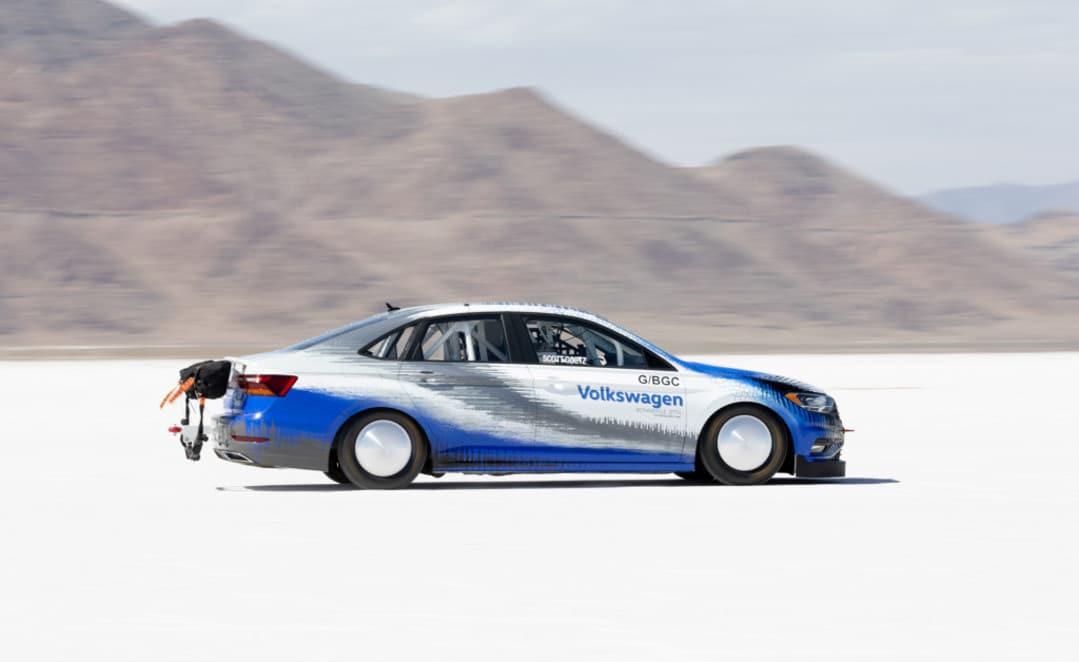 Volkswagen Jetta record de vitesse