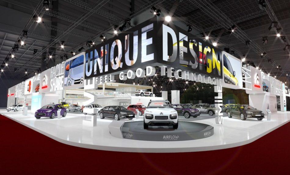 Citroën au Mondial de l'Auto 2014 à Paris