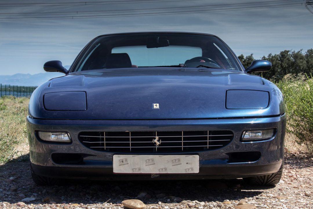 Face avant Ferrari 456 GT
