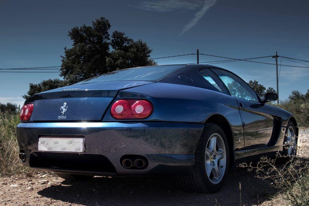 3/4 arrière Ferrari 456 GT