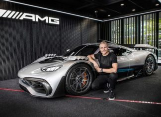 Mercedes-AMG ONE Mondial de l'Auto 2018