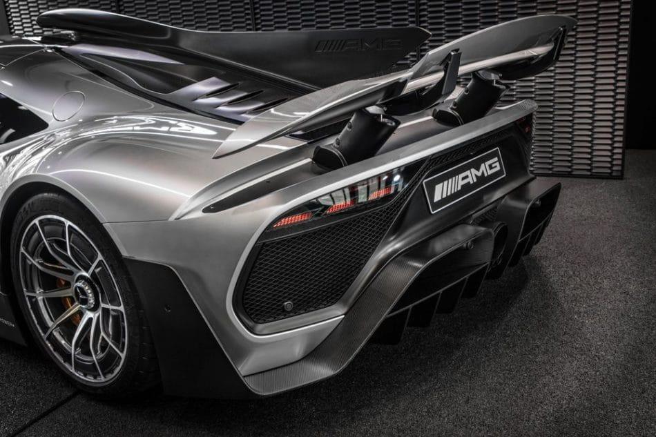 Mercedes-AMG ONE Mondial de l'Auto 2018 aileron actif