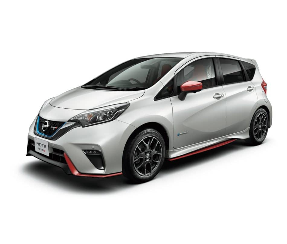 Nissan Note Nismo S face