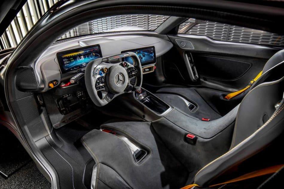 Mercedes-AMG ONE Mondial de l'Auto 2018 Cockpit