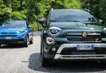 Fiat Abarth 500X abandonnée