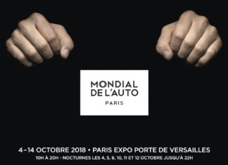 Mondial de l'Auto 2018 à Paris et sa campagne de publicité