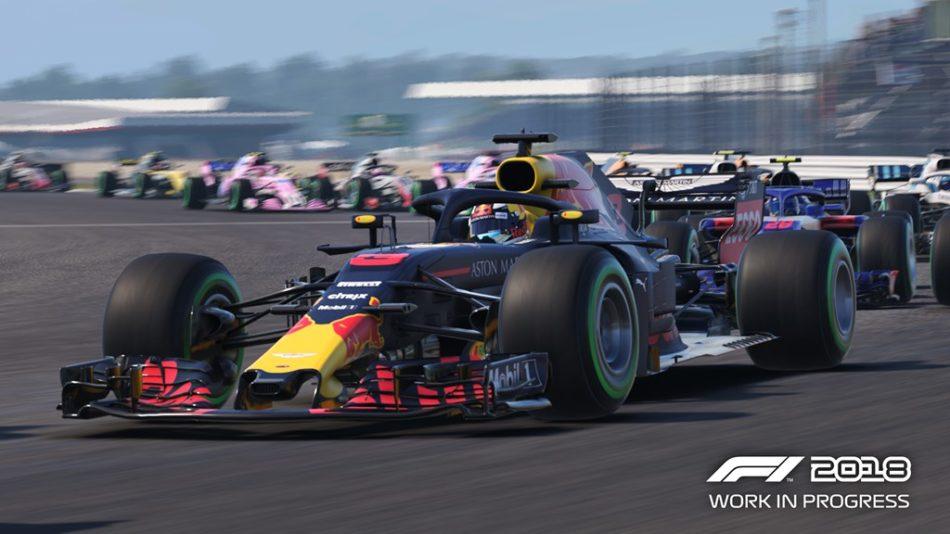 F1 2018 jeu PS4