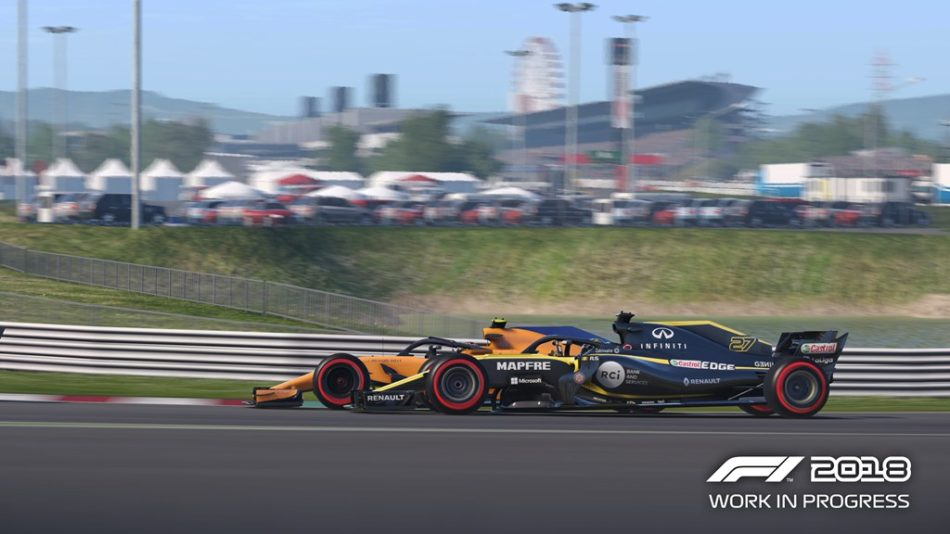 F1 2018 Dépassement IA