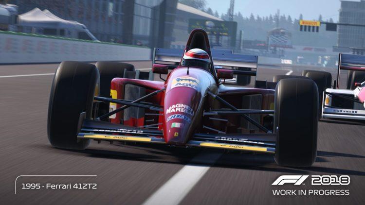 F1 2018 - Ferrari 412 T2