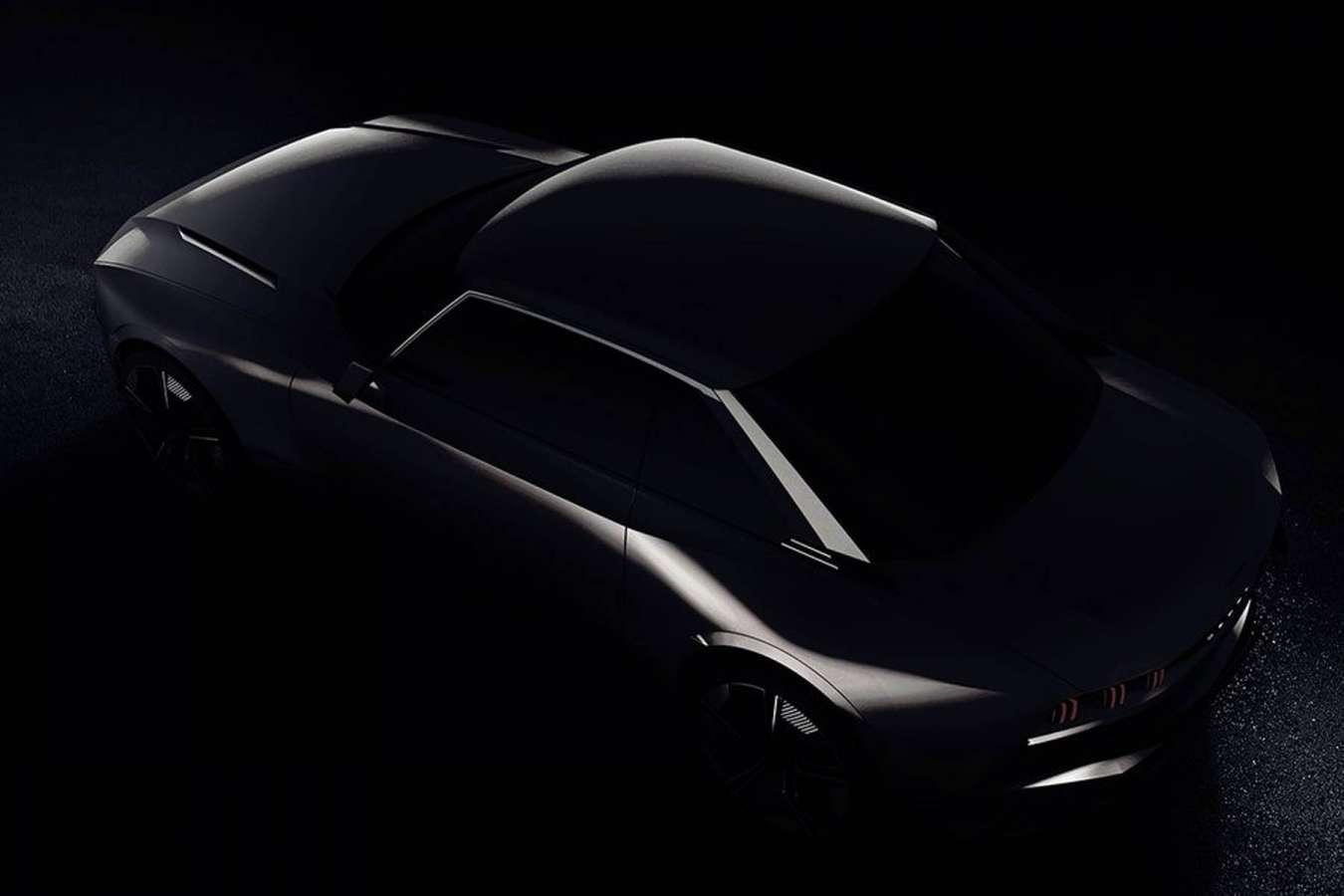 Mondial Auto de Paris 2018 - Concept car Peugeot coupé