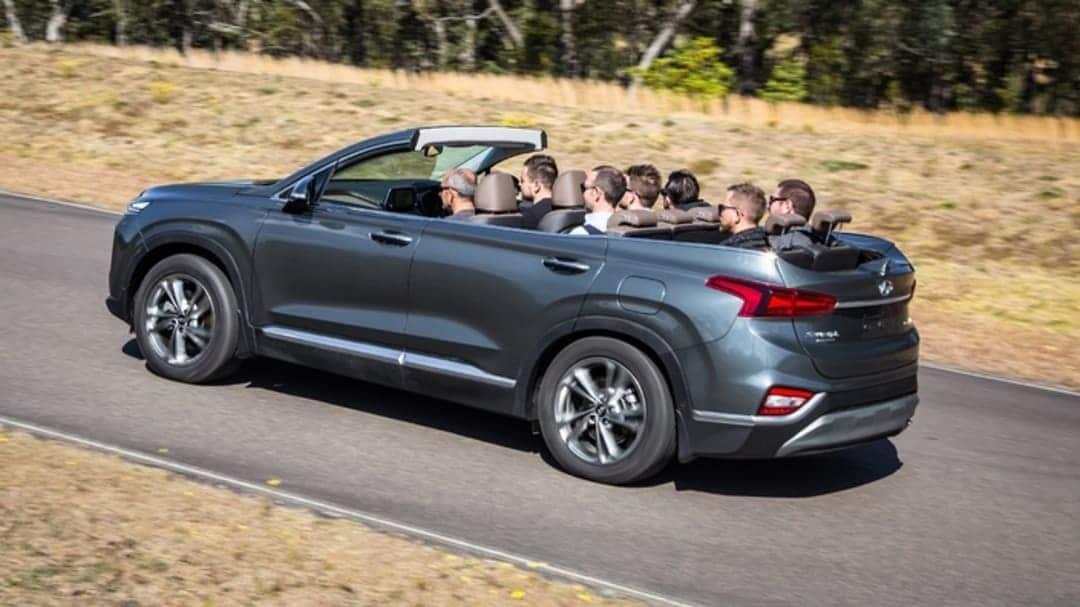 Hyundai Santa Fe cabriolet