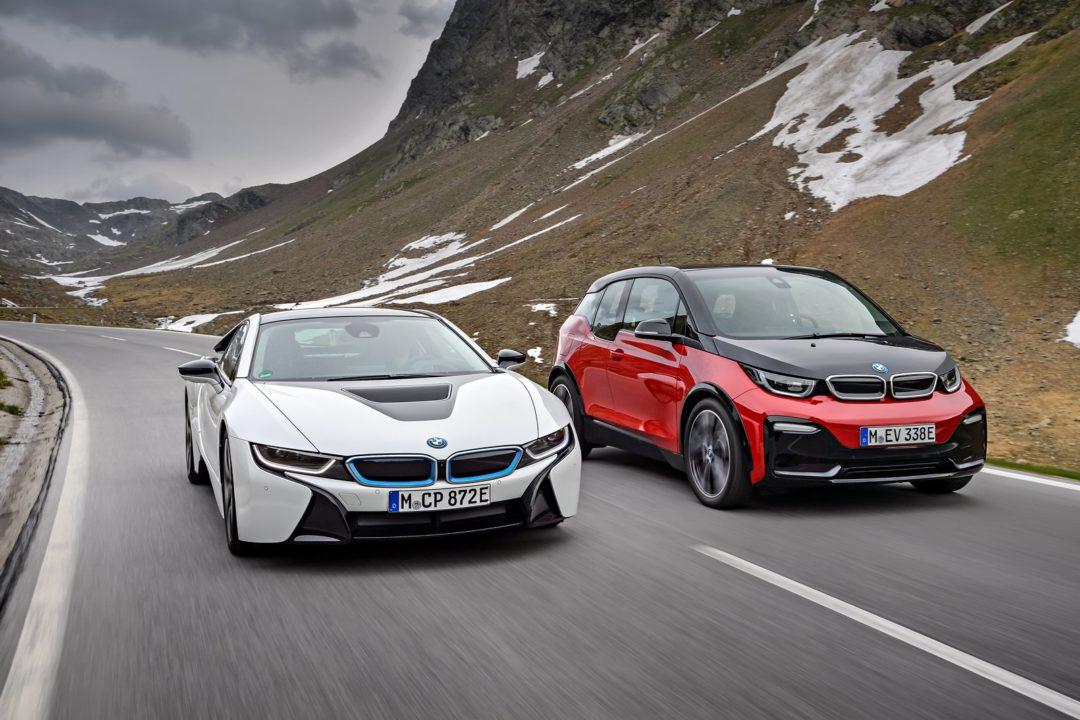 La BMW i8 Roadster et BMW i3