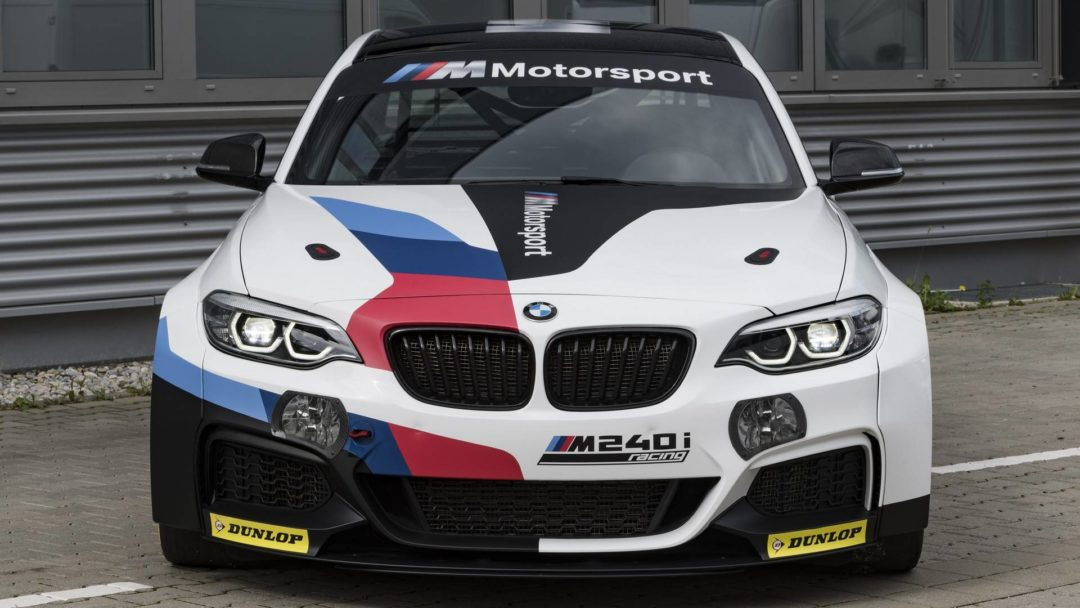 Face avant BMW M240i Racing Cup