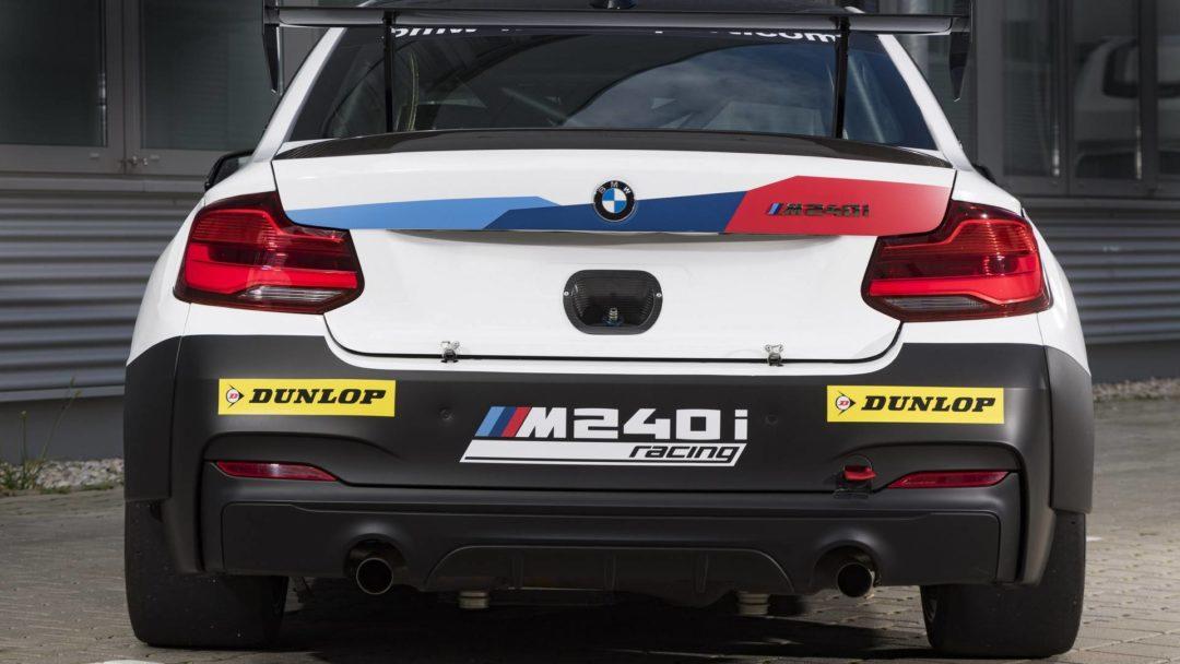Face arrière BMW M240i Racing Cup