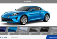 Configurateur Alpine A110 Legende et Pure