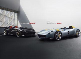 Ferrari dévoile les Monza SP1 et SP2