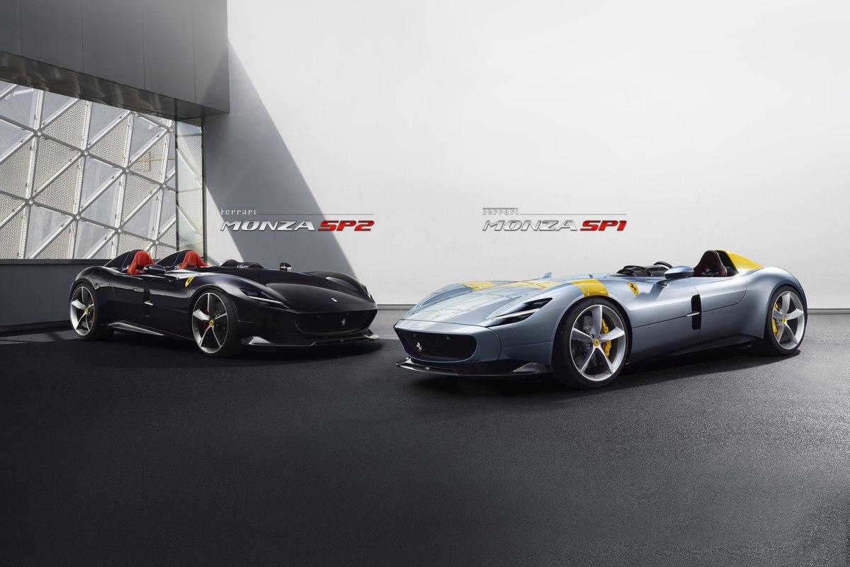 Ferrari dévoile les Monza SP1 et SP2 (calendrier 2019)