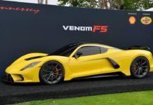 Hennessey Venom F5 vise les 500 km/h