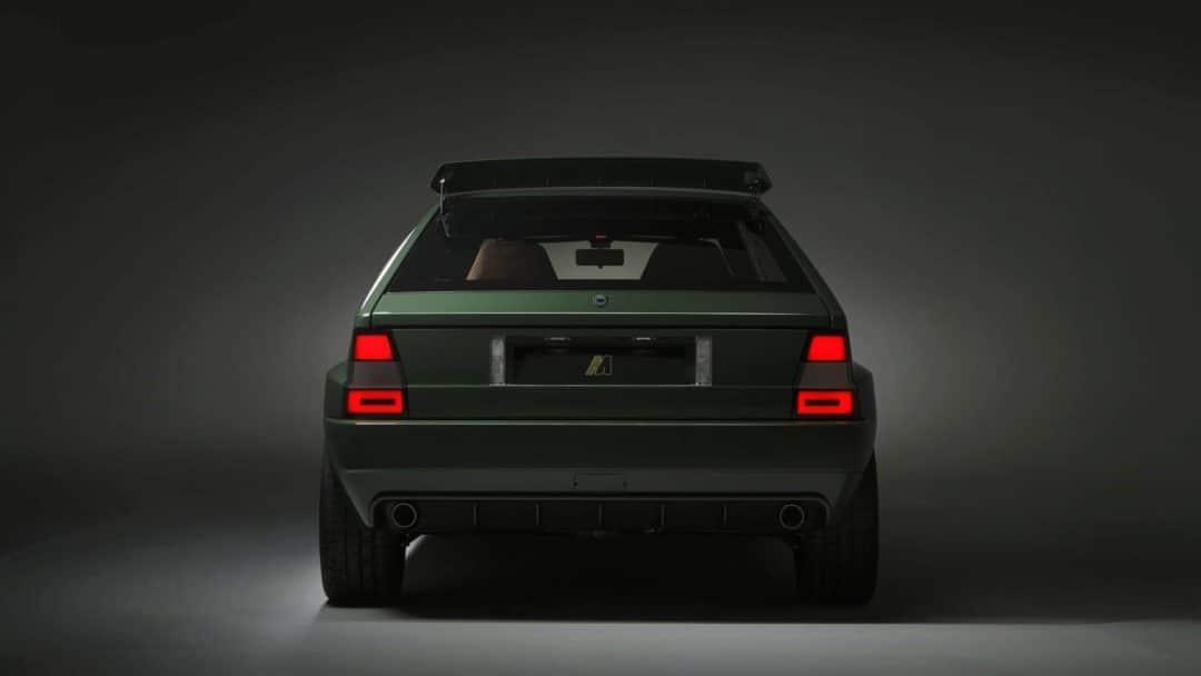 Lancia Delta Futurista Arrière