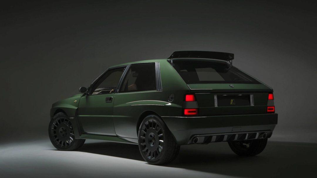 Lancia Delta Futurista 3/4 Arrière