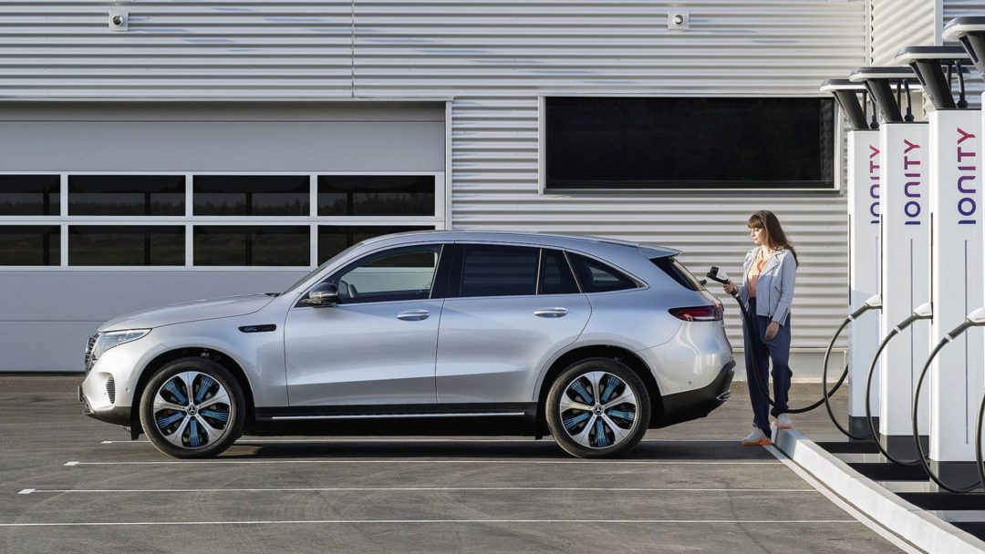 Recharge Mercedes Benz EQC
