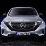 face avant Mercedes Benz EQC