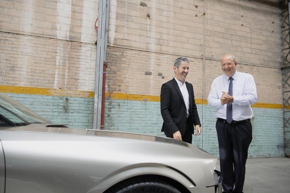 Teaser concept car Peugeot