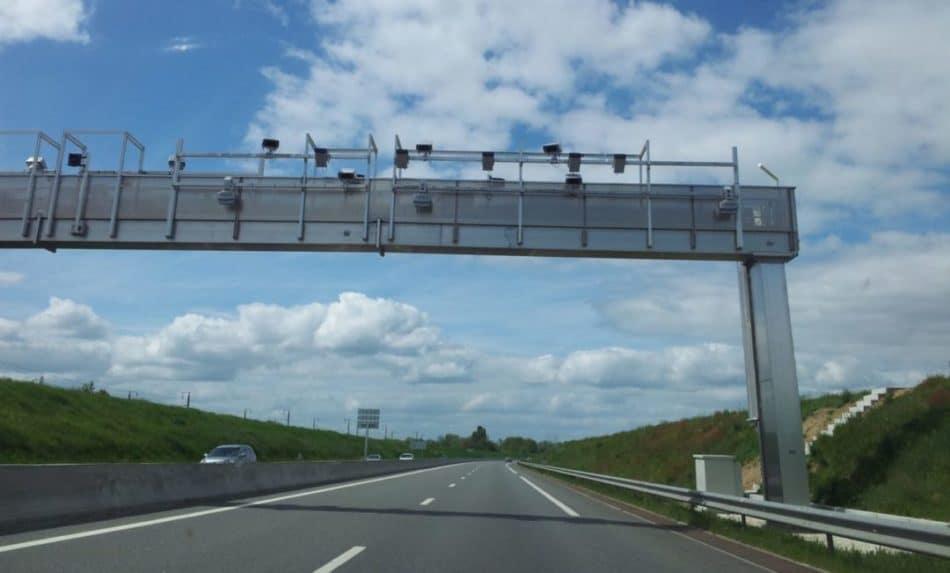 Péage sans barrière en Moselle sur l'autoroute A4