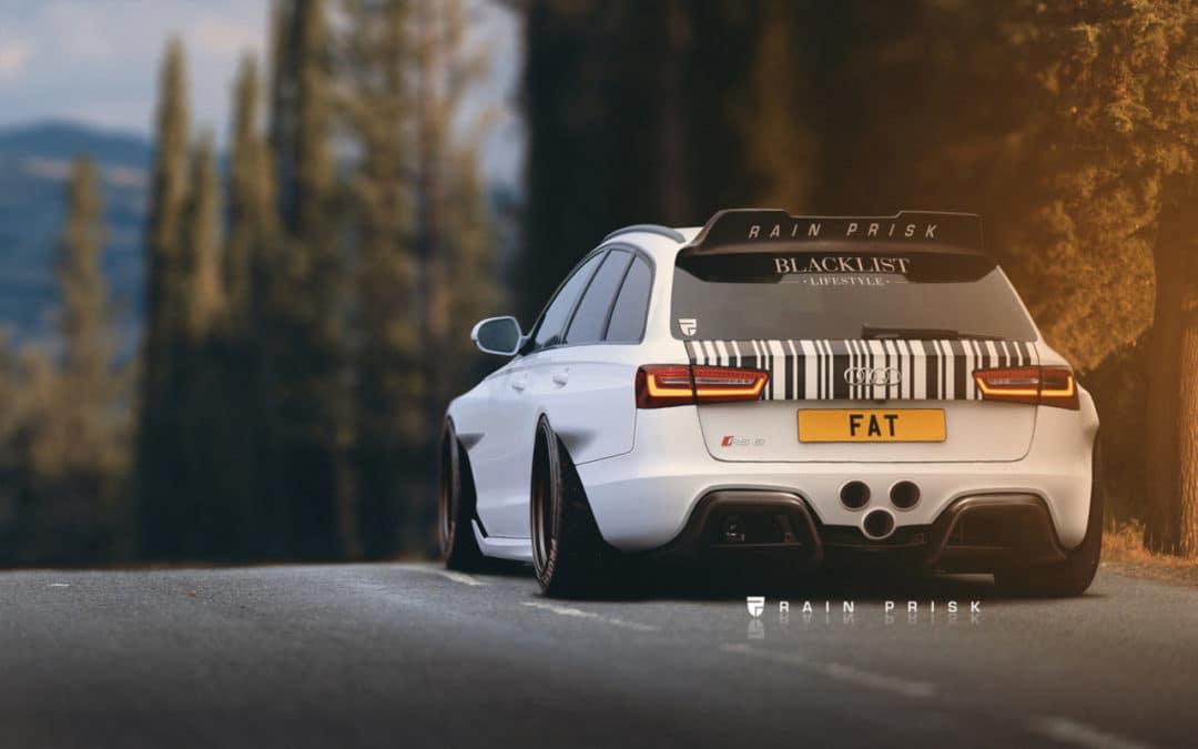 Audi RS6 3D