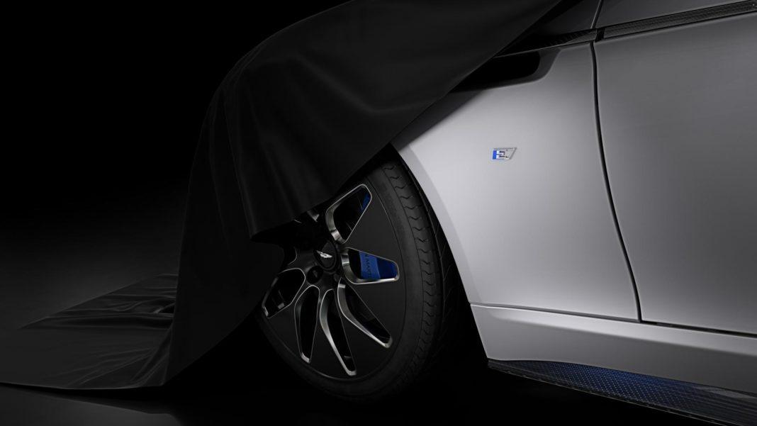 Teaser Aston Martin Rapide E