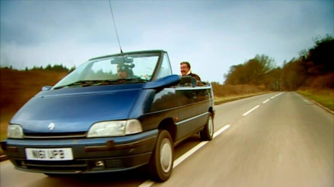 Renault Espace cabriolet Top Gear