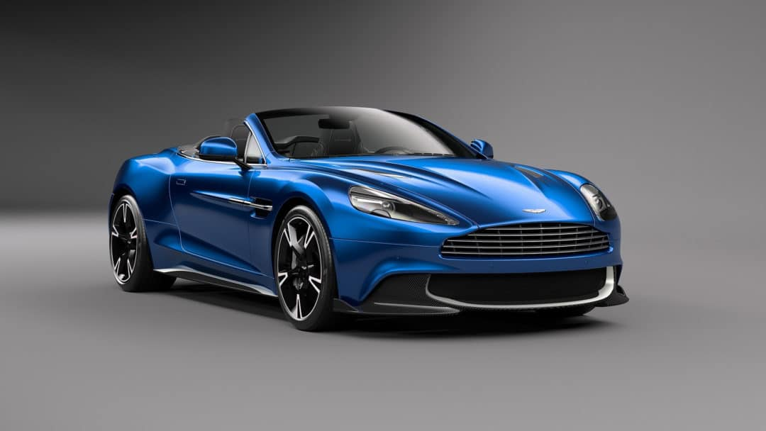 Face Avant : Aston Martin Vanquish S Volante