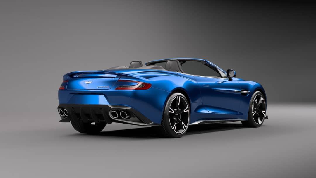 Face Arrière : Aston Martin Vanquish S Volante