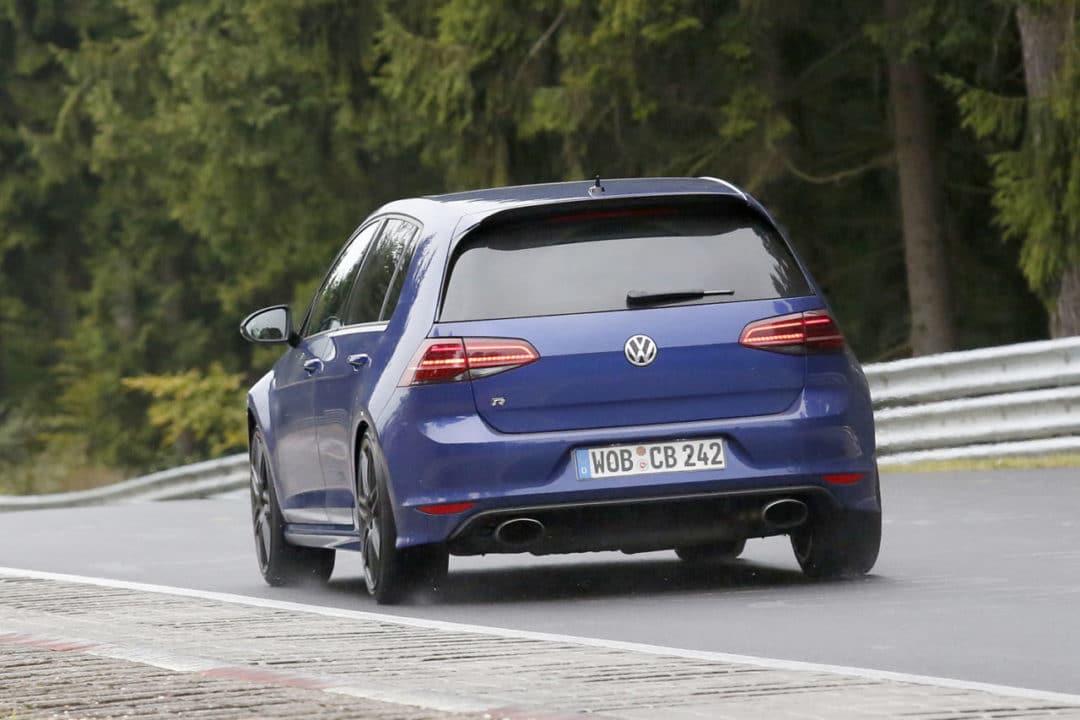 La Volkswagen Golf R420 encore aperçue au Nürburgring