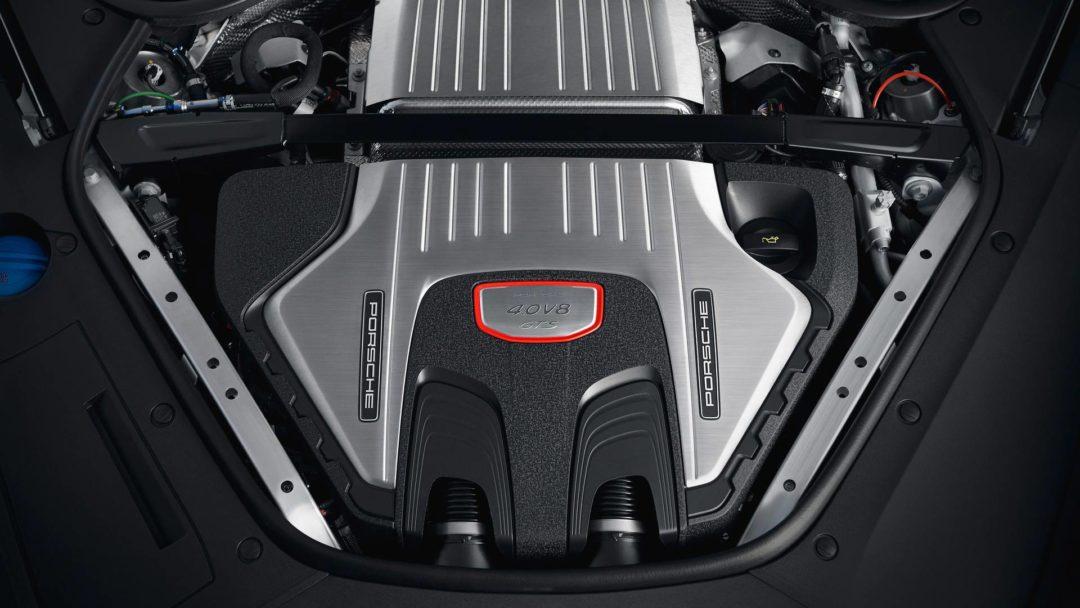 Moteur de la nouvelle Porsche Panamera GTS