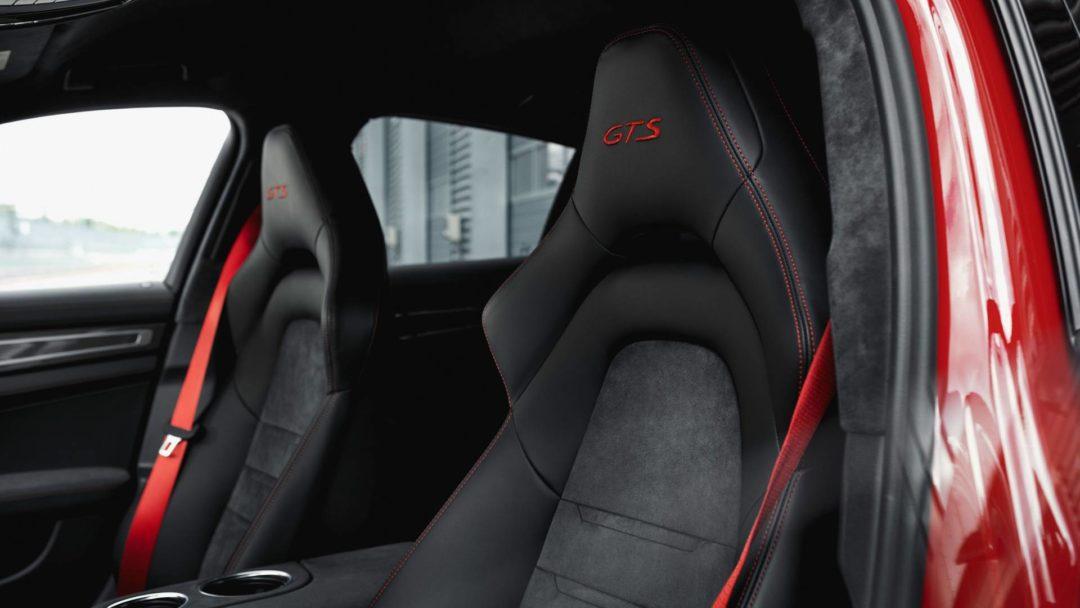 Intérieur et sièges de la nouvelle Porsche Panamera GTS