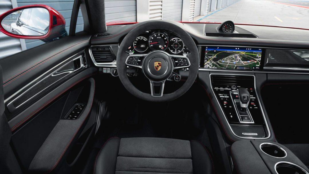 Intérieur de la nouvelle Porsche Panamera GTS