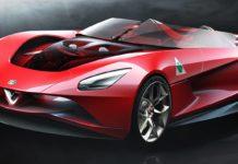Design de l'Alfa Romeo 6C de Gaspare Conticelli