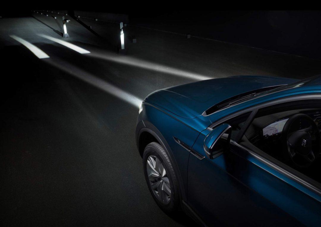 phares avants interactifs Volkswagen