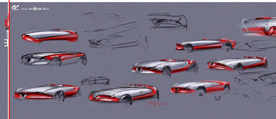 Croquis-Alfa-Romeo-6C-Gaspare-Conticelli'