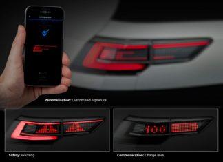 Personnalisation de ses phares interactifs Volkswagen