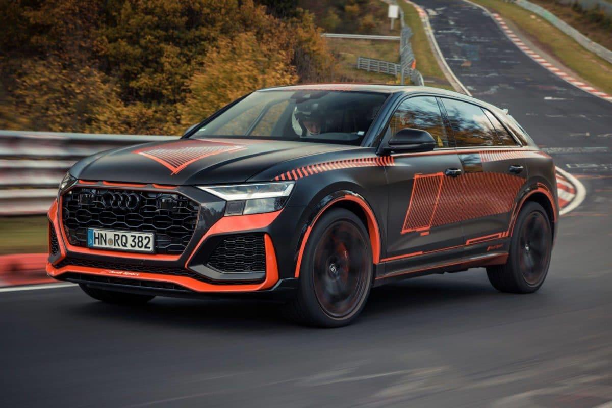Record du RS Q8 Audi sur le Nurburgring